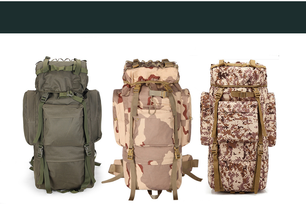 Mountaineering Bag Colors