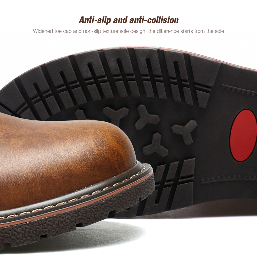Large Size Men's Shoes Anti-slip and anti-collision
