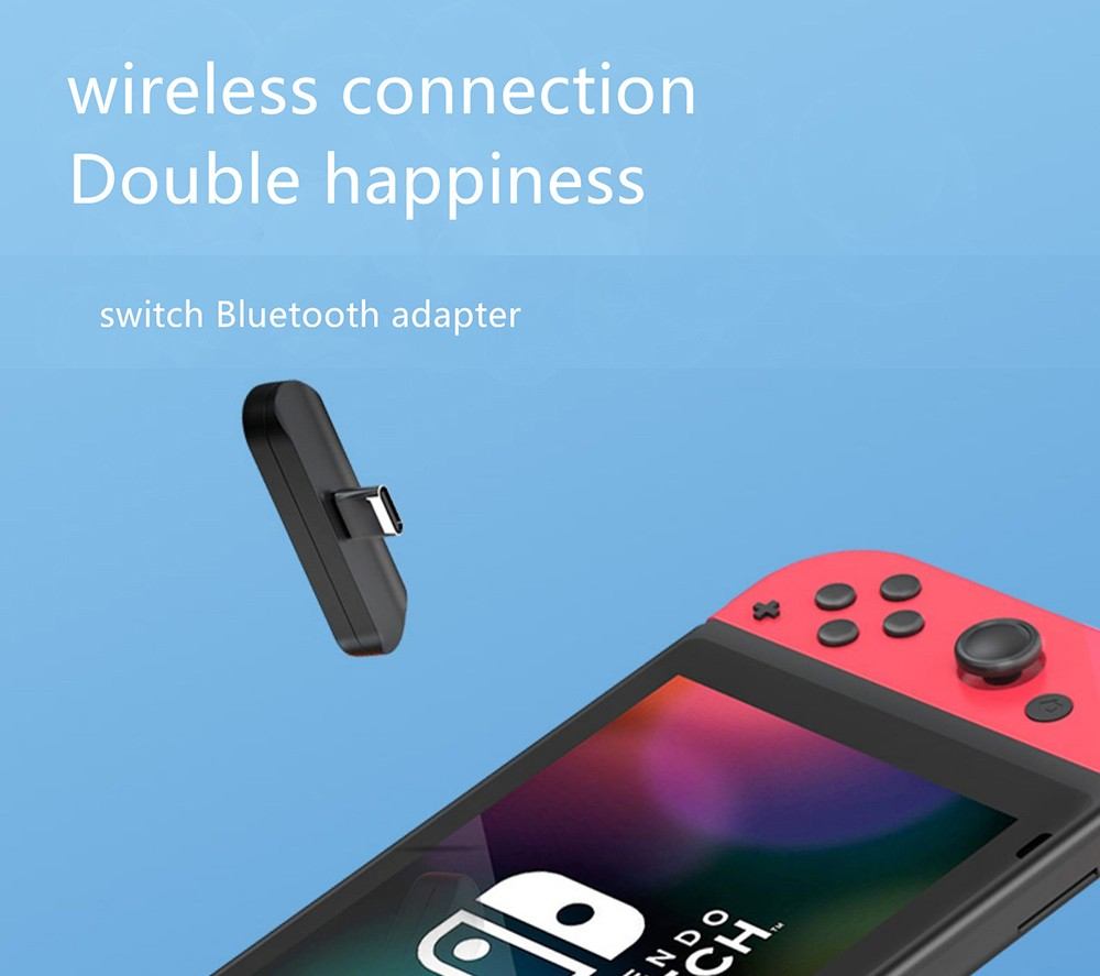 HAGIBIS SW01 Bluetooth 5.0 Adapter for Switch - Black