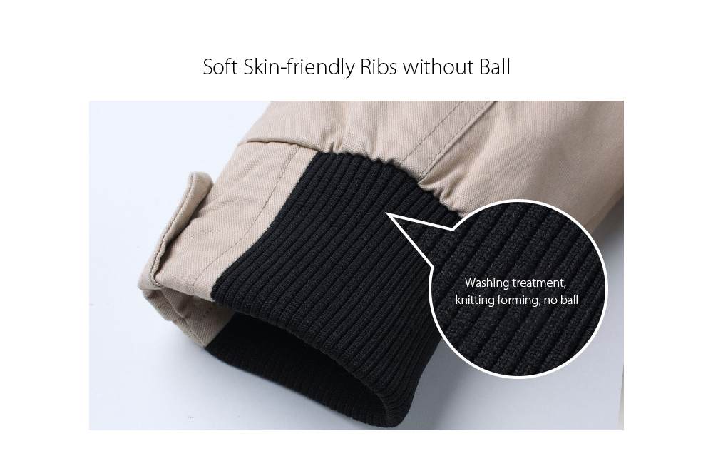 Soft Skin-friendly Ribs without Ball