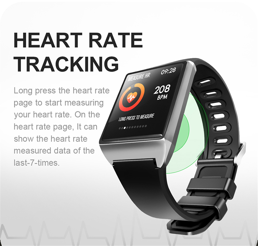 W2 Smart Watch Alloy High End Smart Bracelet Heart Rate Blood Pressure Water Sports Pedometer Sleep Monitoring Intelligent Watches - Blue