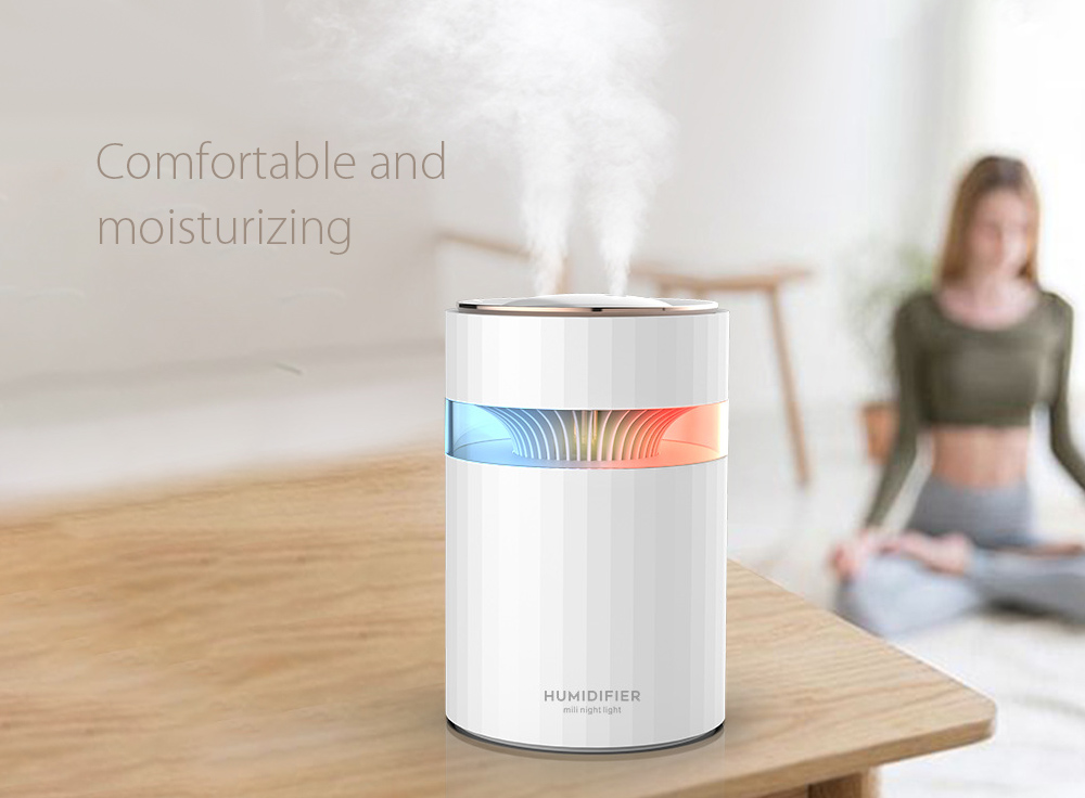 M207 Negative Ion Dual Port Humidifier Comfortable and moisturizing