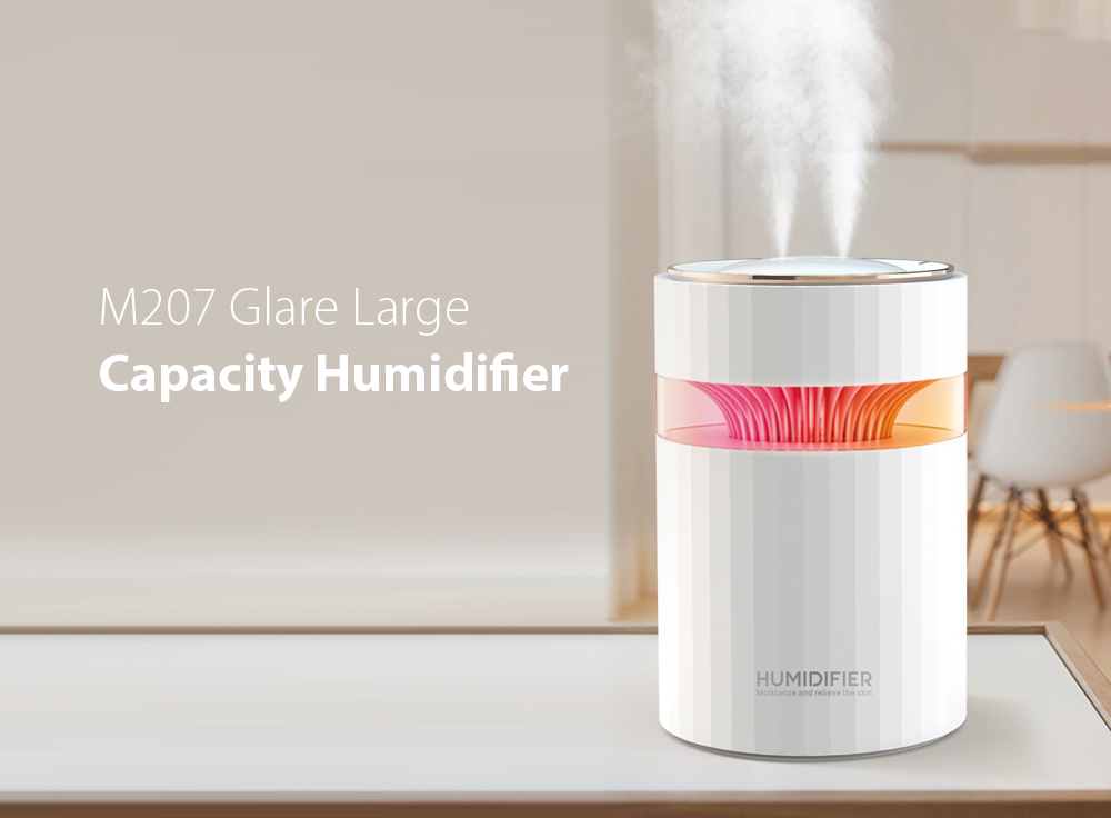 M207 Negative Ion Dual Port Humidifier