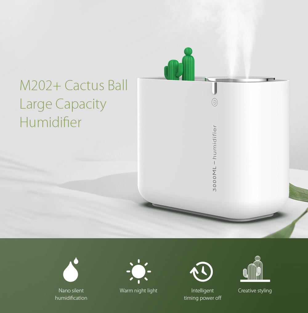 M202+ Negative Ion Double Ports Humidifier