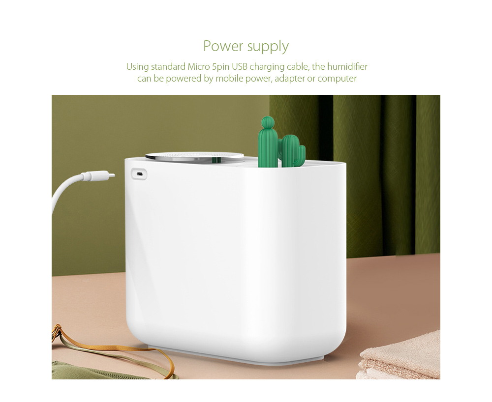 M202+ Negative Ion Double Ports Humidifier Power supply