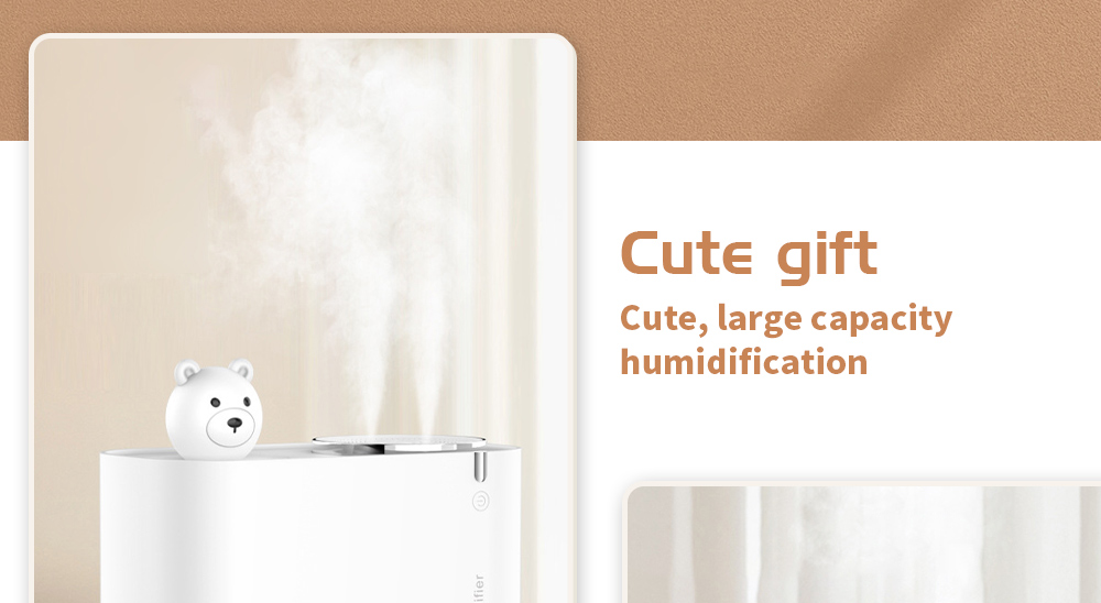 M202 Negative Ion Double Ports Humidifier Cute gift