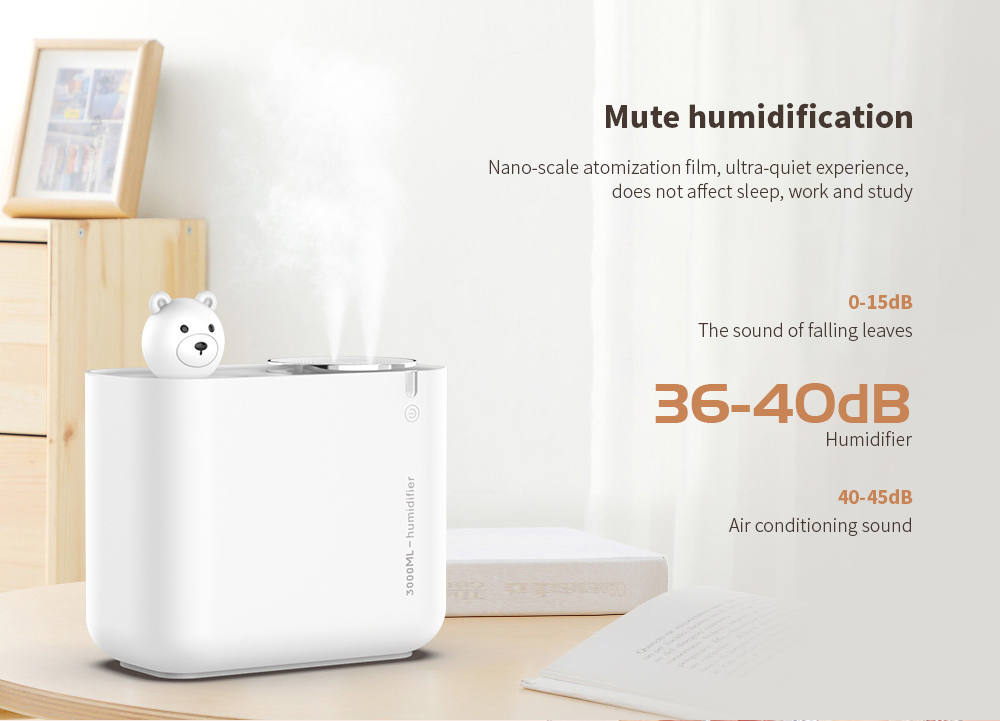 M202 Negative Ion Double Ports Humidifier Mute humidification