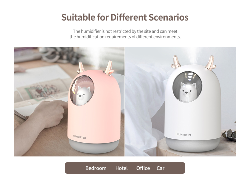 Colorful Mini USB Humidifier Application
