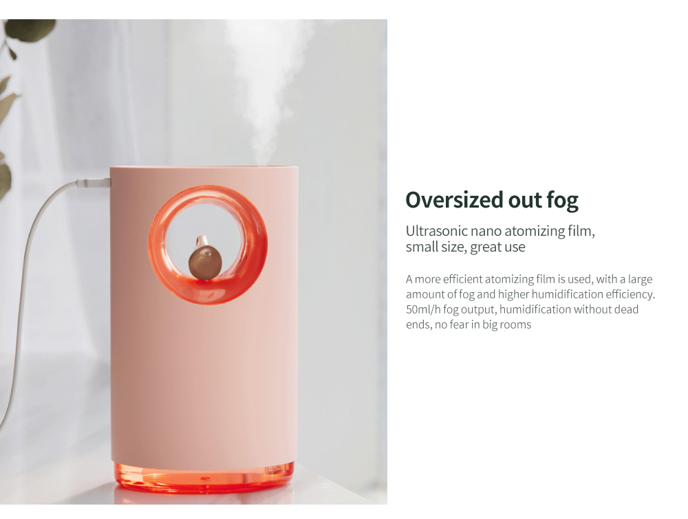 LED Music Humidifier Oversized out fog