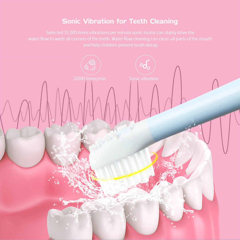 Children Sonic Electric Toothbrush from Youpin Vibration