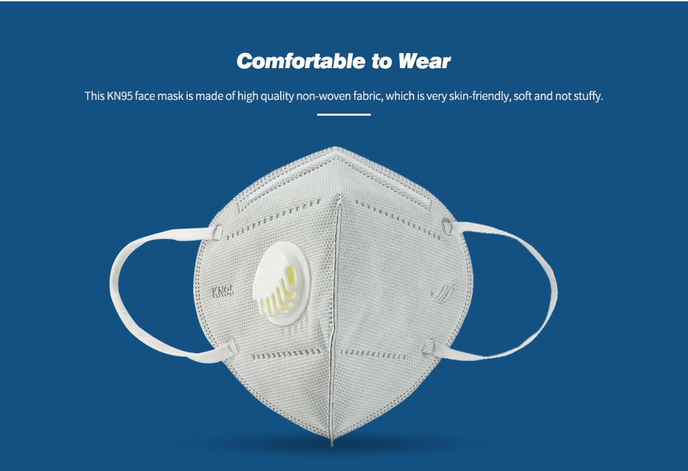 Disposable Mask 5-Ply Anti-Pollution Face Masks Comfortable to Wear