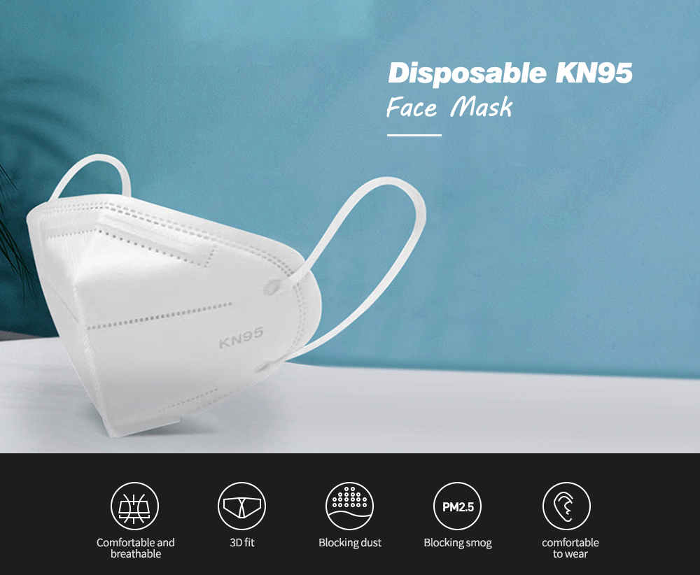 Disposable Mask 5-Ply Face Masks
