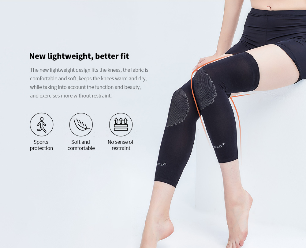 Wormwood Lava Rock Self-heating Exercise Kneepad New lightweight, better fit