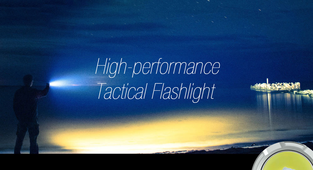JETBeam 3Ms Outdoor Tactical Flashlight