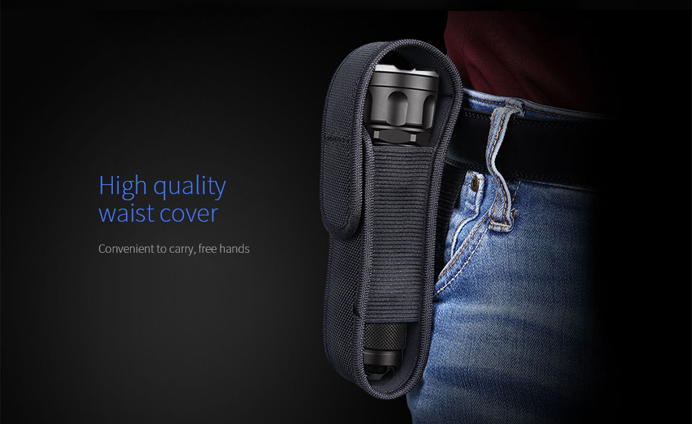 JETBeam 3Ms Outdoor Tactical Flashlight High quality waist cover