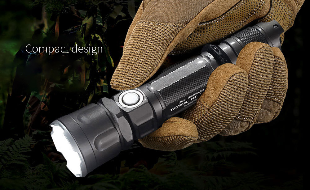 JETBeam 3Ms Outdoor Tactical Flashlight Compact design