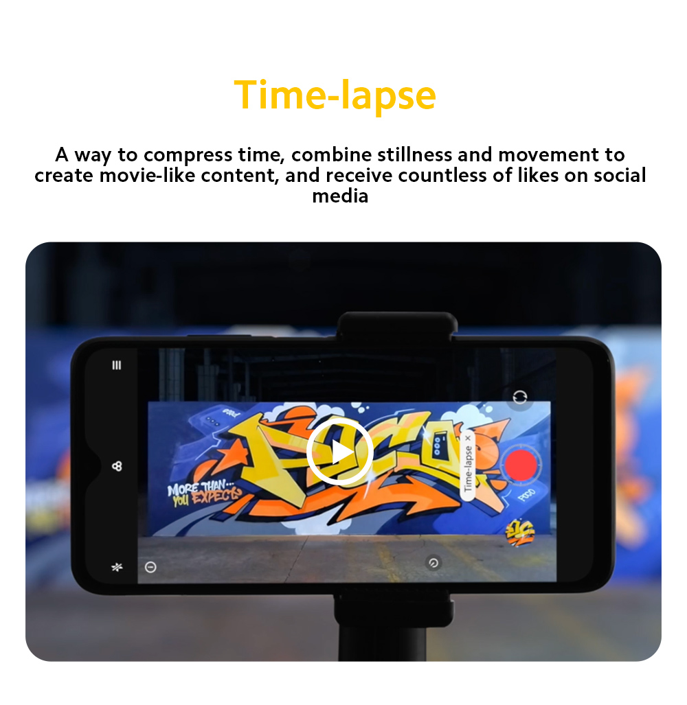 Xiaomi Poco M3 4G Smart Phone Time-laspe