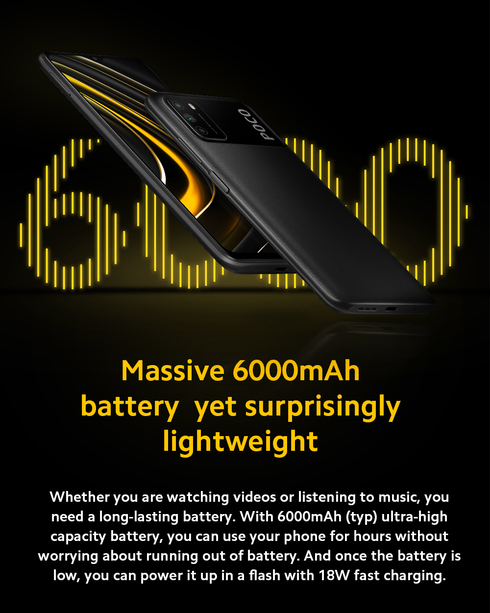 Xiaomi Poco M3 4G Smart Phone Battery
