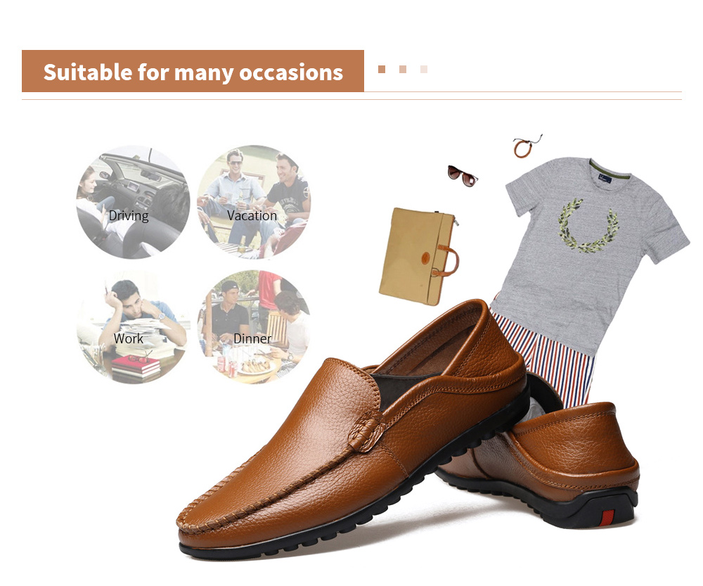 Men's Casual Peas Shoes Suitable for many occasions