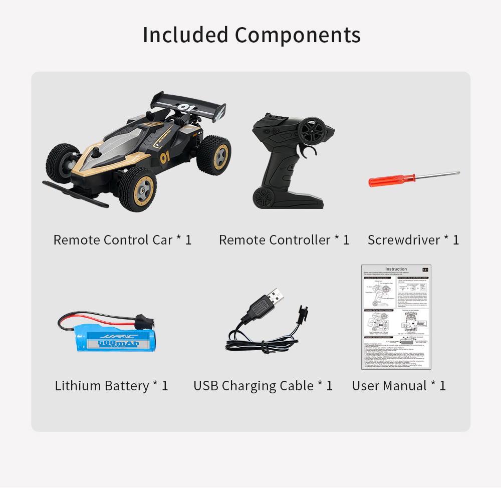 JJRC Q91 1:20 Remote Control Four-wheel Drive RC Racing Resistance Drift Climbing Off-field Electric Toy Model - Tea Green