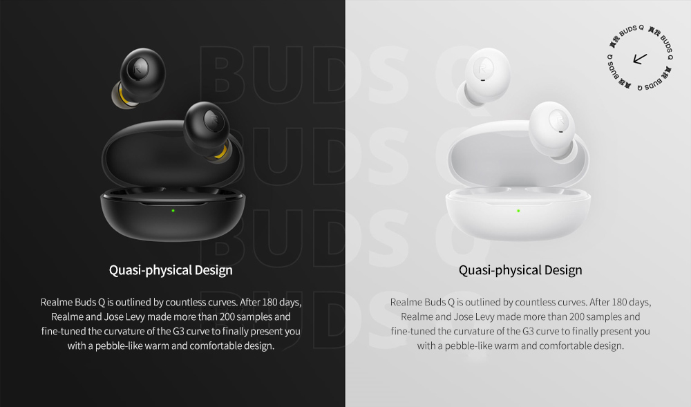 realme Buds Q Bluetooth 5.0 Wireless Earbuds Colors