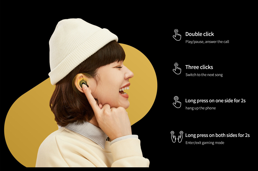 realme Buds Q Bluetooth 5.0 Wireless Earbuds Operation