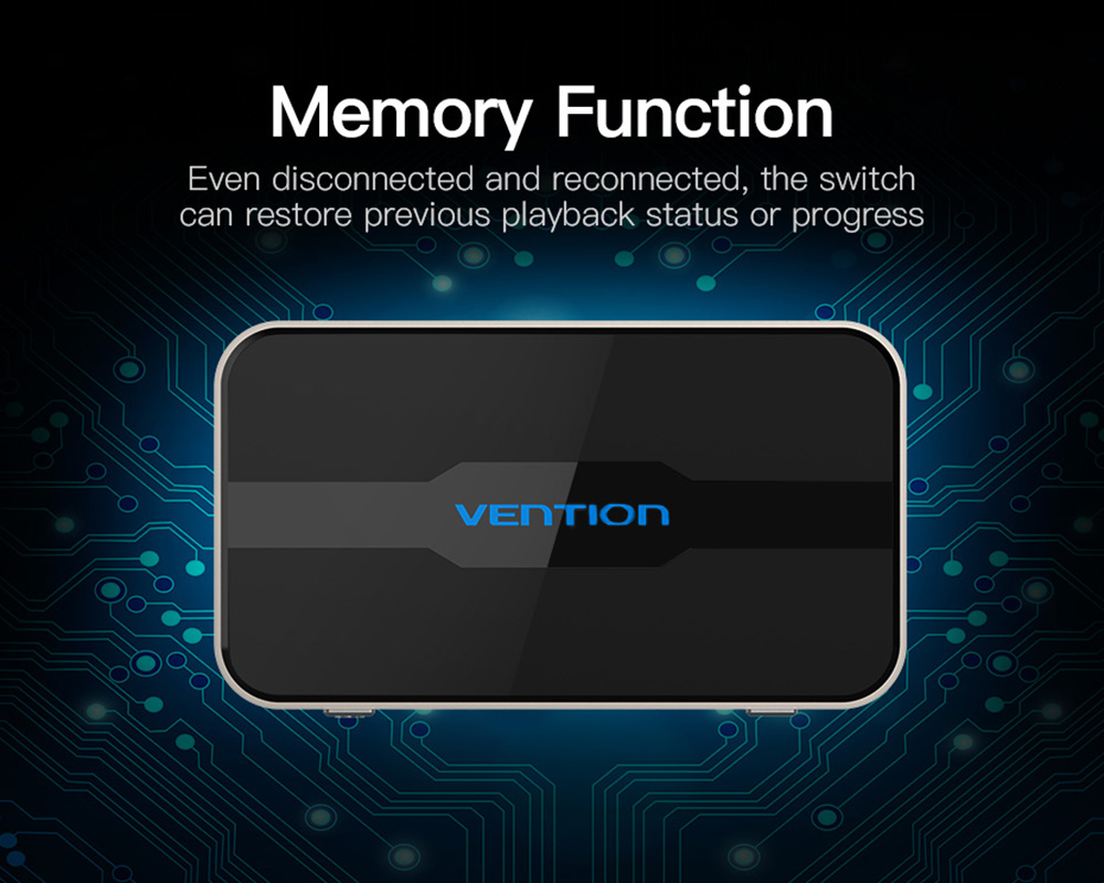 Vention AFFH0 DHMI 4K HD Switcher Converter - Silver