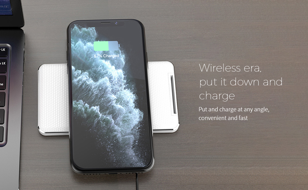 Y8 Wireless Charger Wireless era, put it down and charge