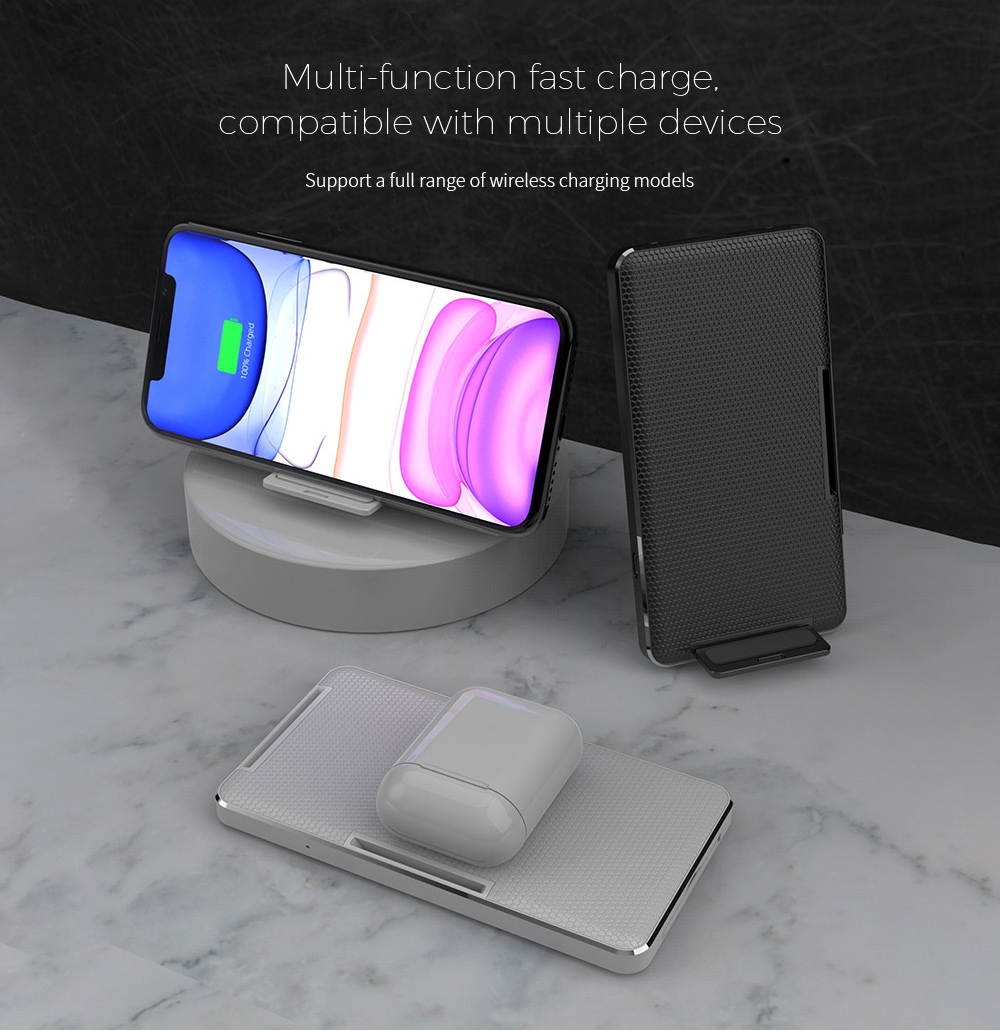 Y8 Wireless Charger Multi-function fast charge, compatible with multiple devices