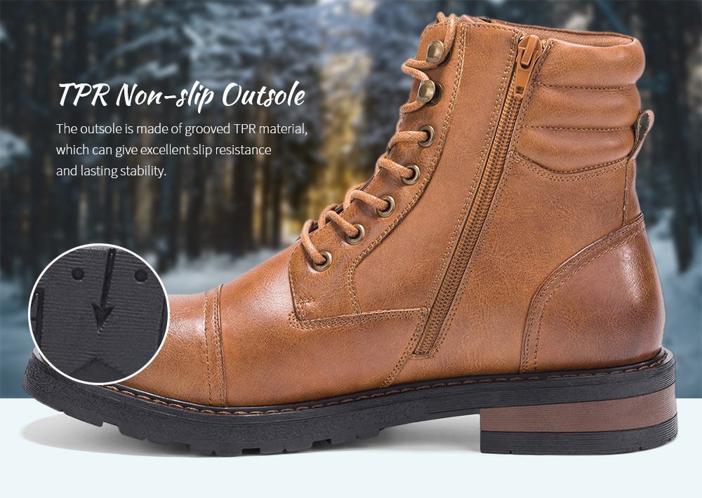 GM GoLaiman G1108 Men Boots TPR Outsole