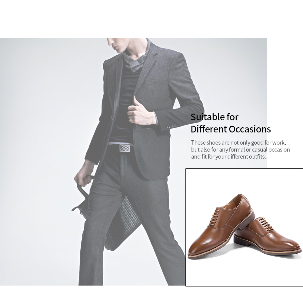GM GOLAIMAN G1301 Men Business Style Shoes
