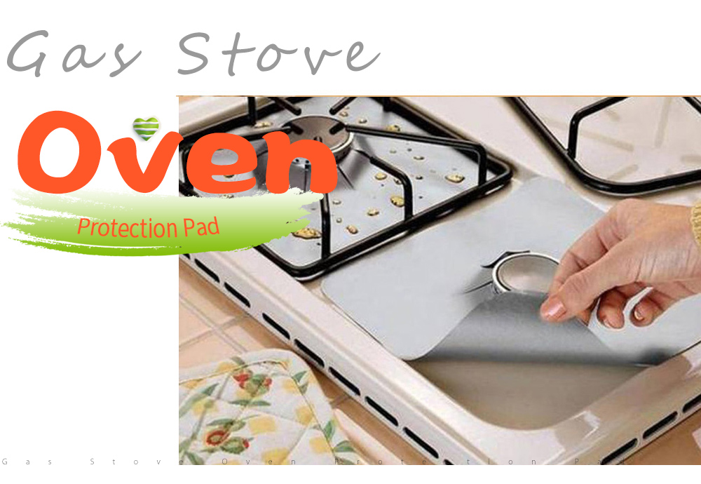 Gas Stove Oven High Temperature Protection Pad
