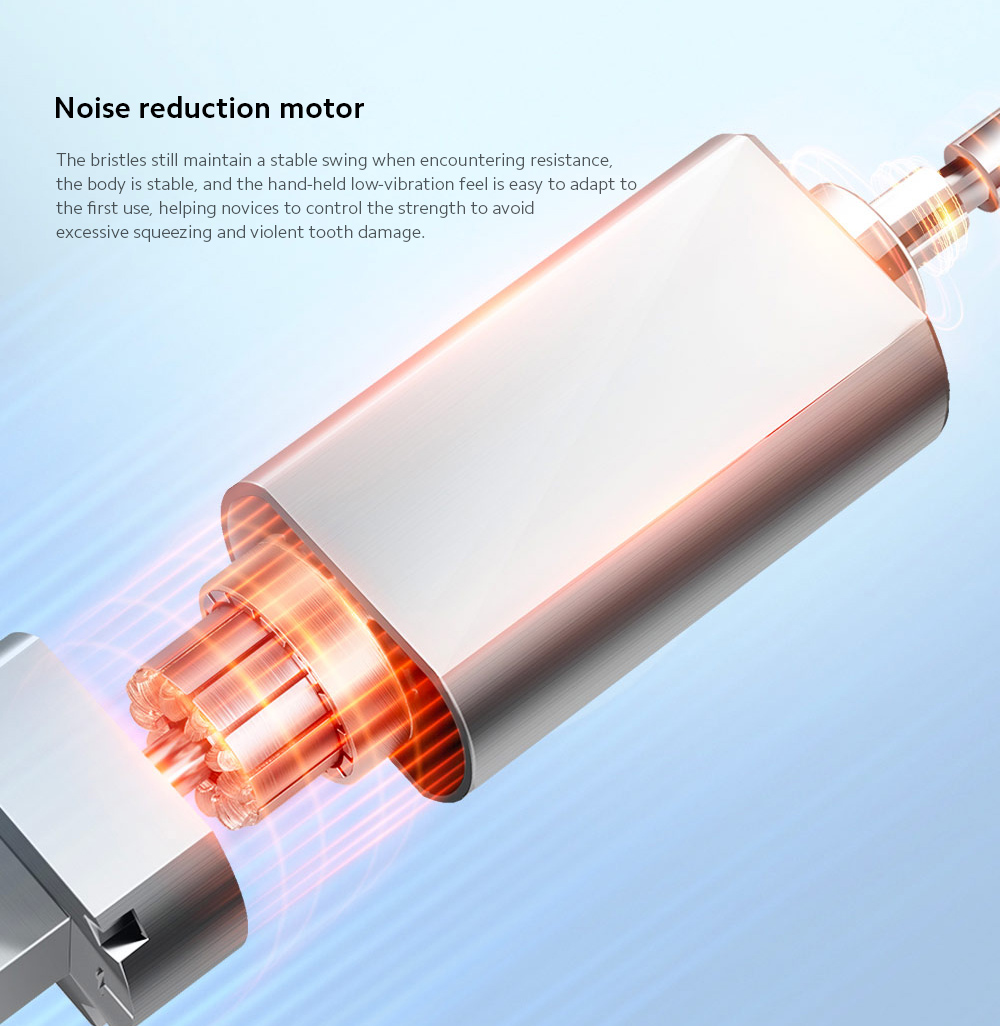D1-W / D1-P Electric Sonic Toothbrush Noise reduction motor