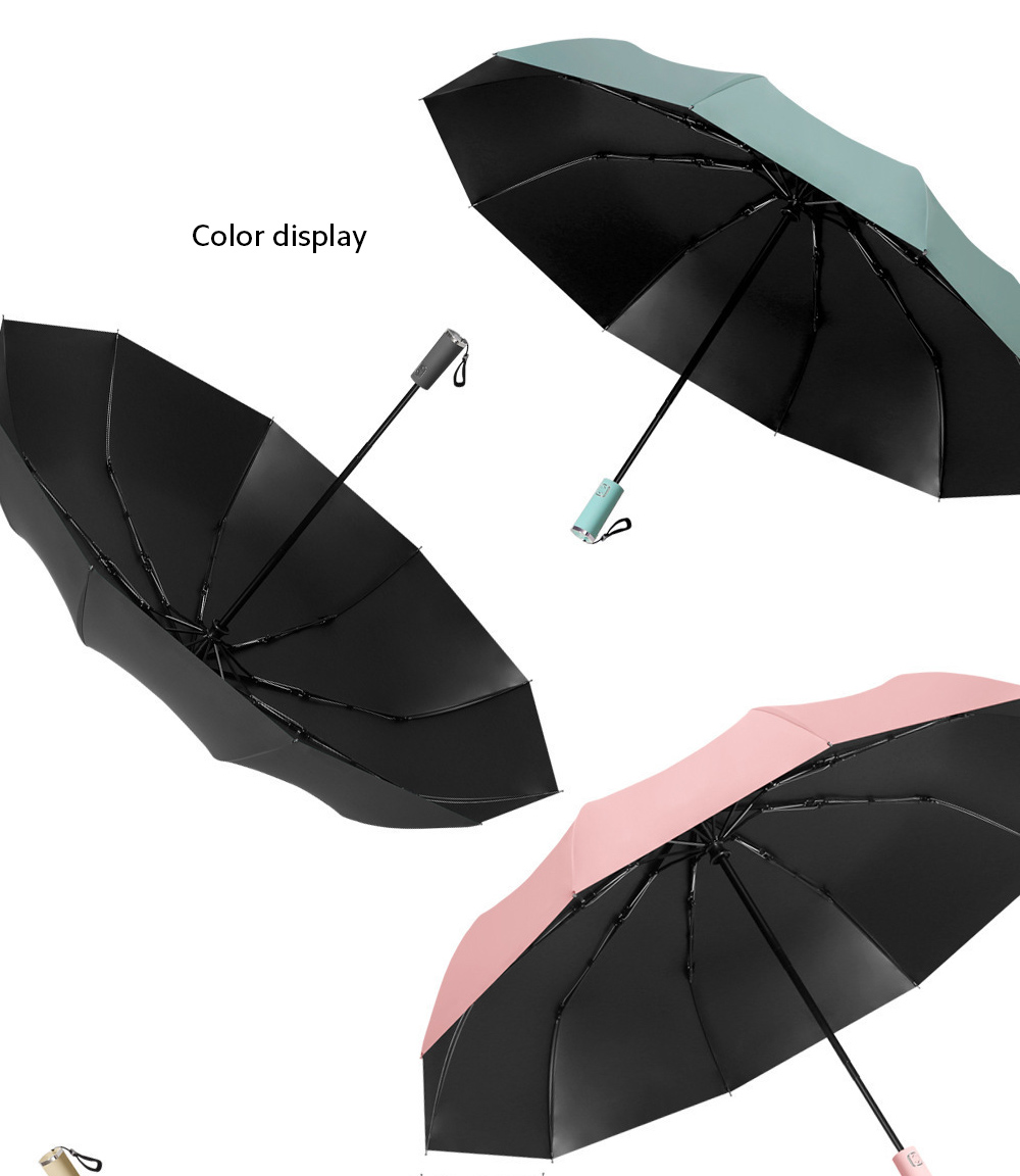 Umbrella color display