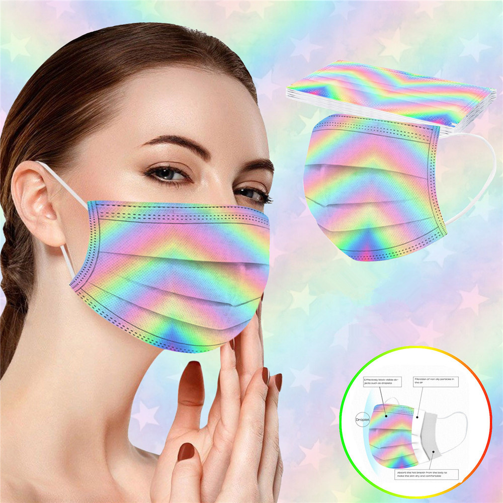 Disposable Mask Dust-Proof Breathable Mask - Multi-E 10pcs
