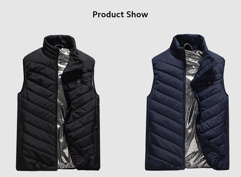 USB Charged Vest show