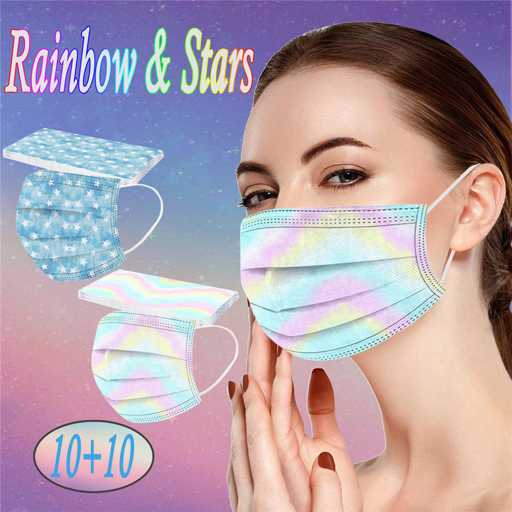 Disposable Dust-Proof Breathable Mask - Multi-A 20pcs
