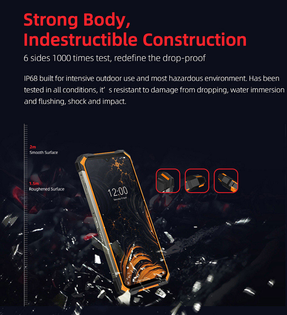 Doogee S88 Pro 4G Smartphone Global Version - Green EU Version