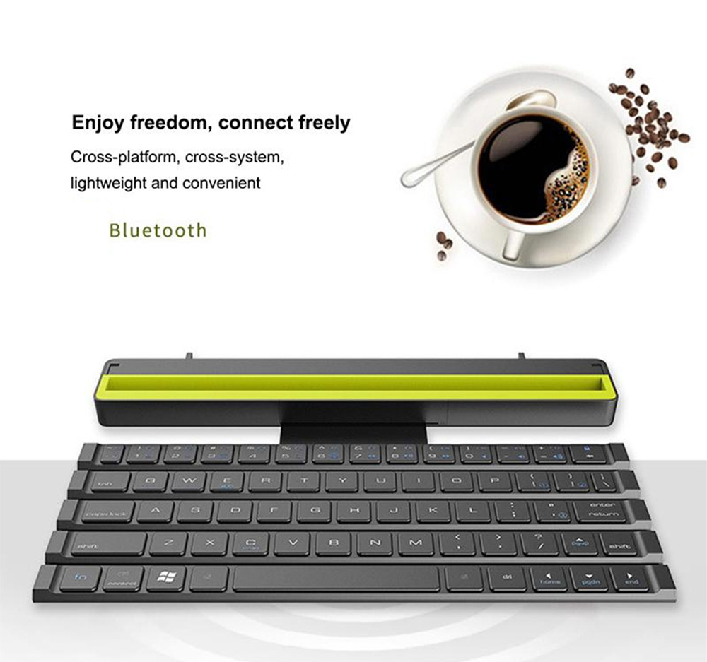 R4 Wireless Bluetooth Keyboard - Blue Zircon