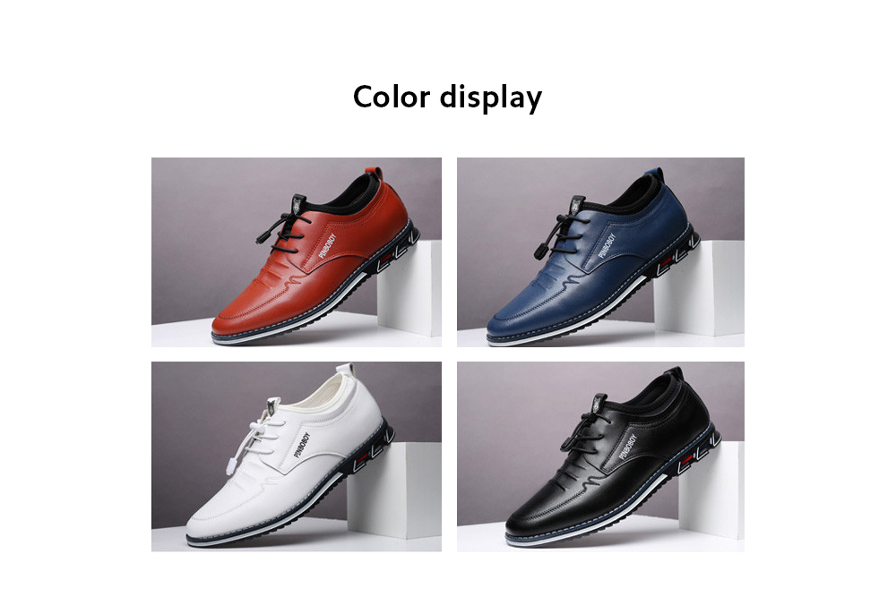 Men's Shoes Casual Leather Shoes color display