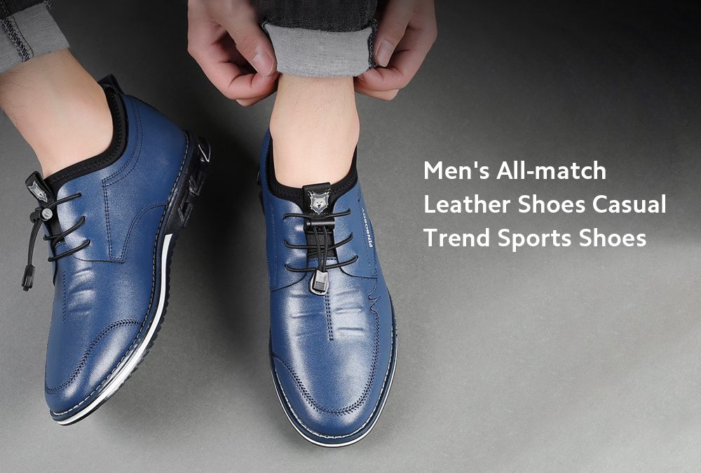 Men's Shoes Casual Leather Shoes