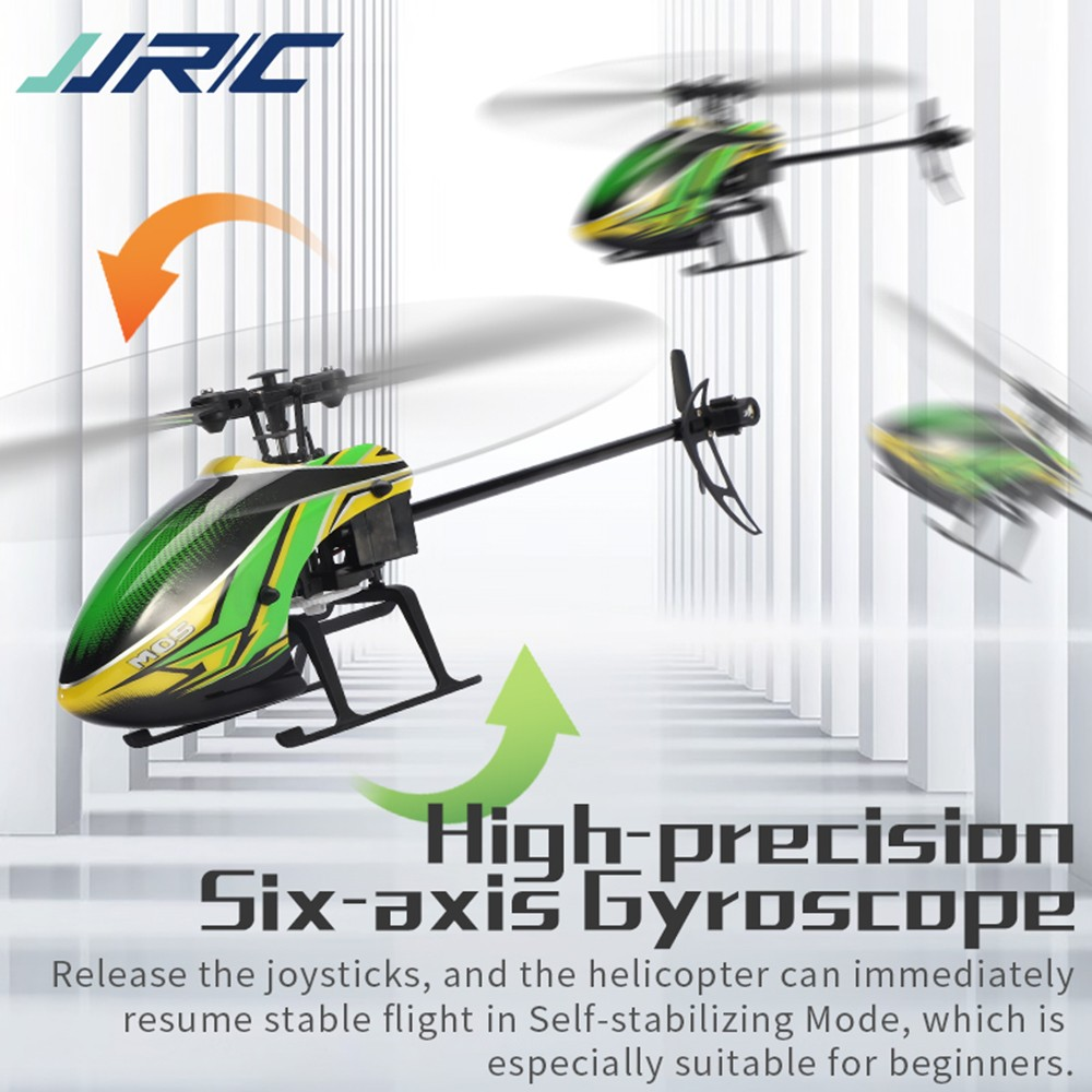 JJRC M05 Remote Control 2.4G Self-stabilizing Attitude Hold 4-Channel Helicopter Six-axis Gyroscope - Green