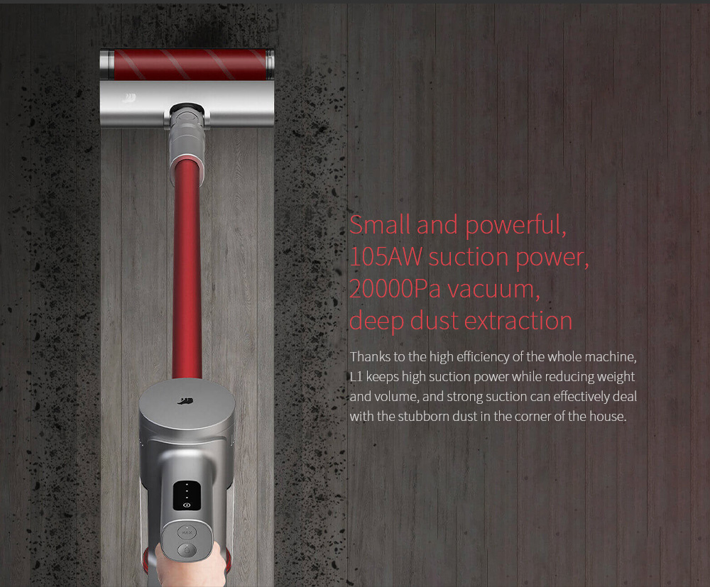 Shun Zao L1 Vacuum Cleaner Small and powerful