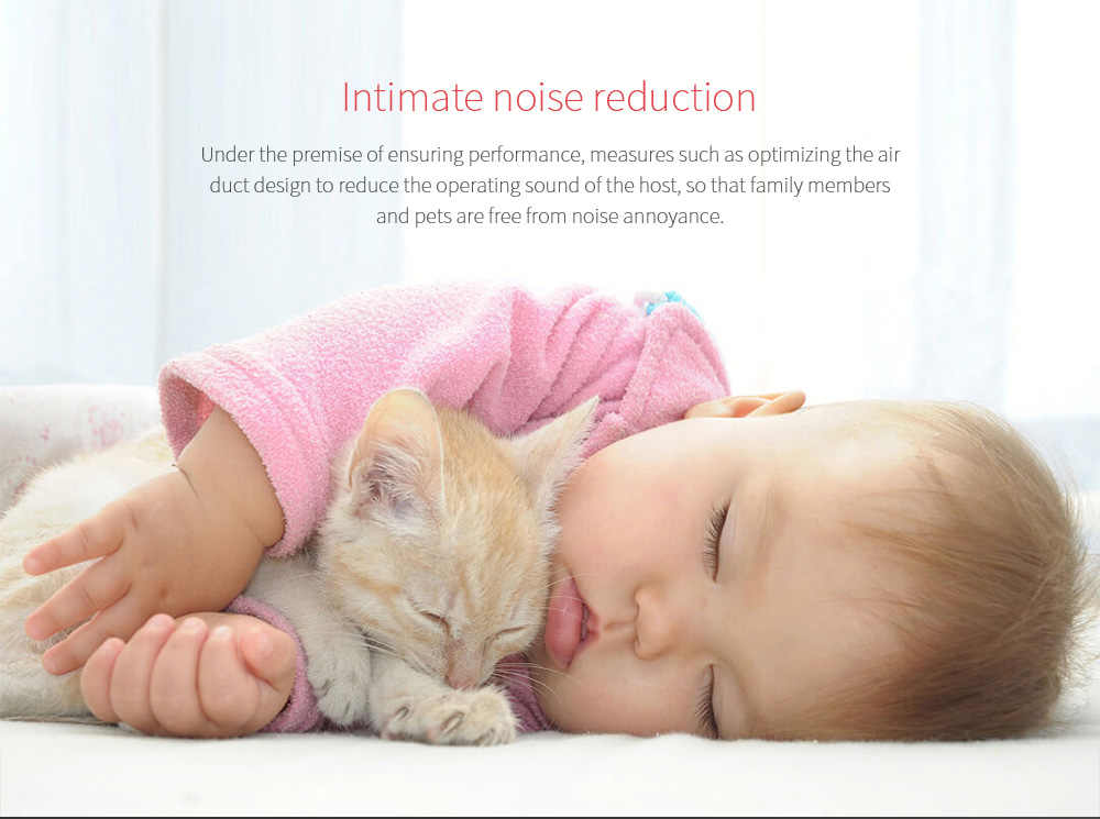 Shun Zao L1 Vacuum Cleaner Intimate noise reduction