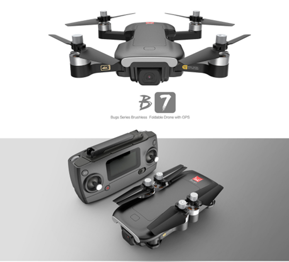 B7 RC Quadcopter - Black one battery with box