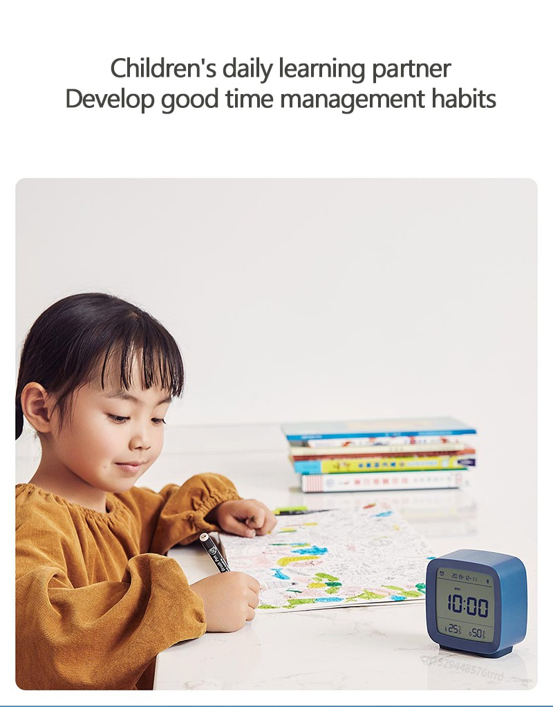CGD1 Bluetooth Alarm Clock Children's daily learning partner