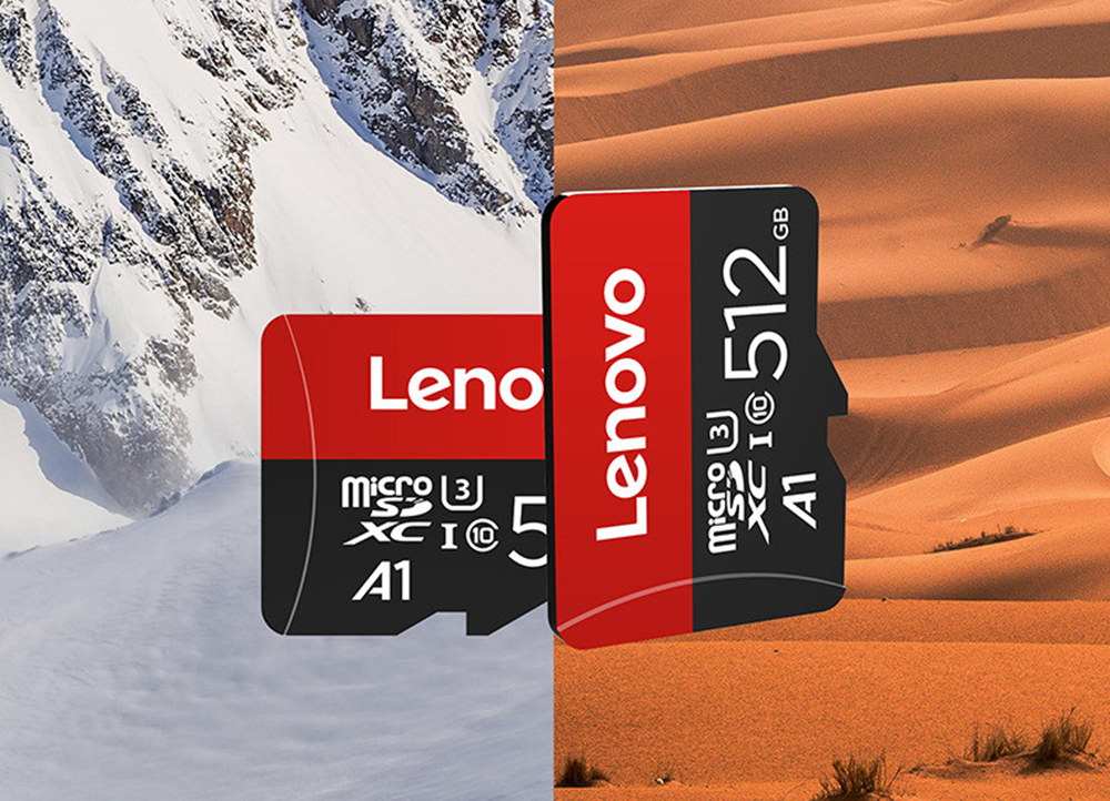 Lenovo Memory Card - Rosso Red 16GB TF Card+3.0 2-in-1 Card Reader