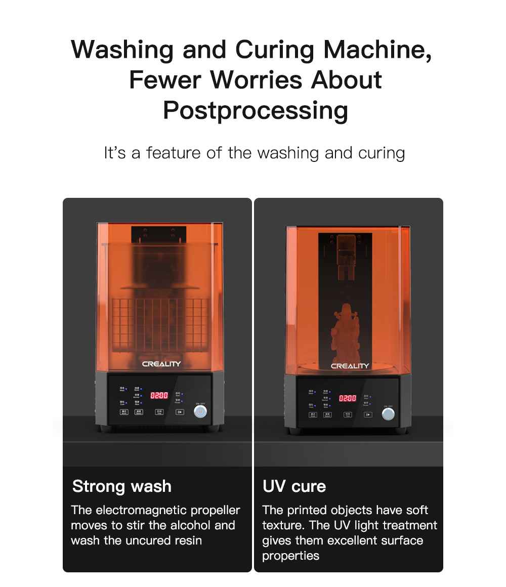 Creality UW-01 Two-in-one Curing Machine - Multi-A US Plug