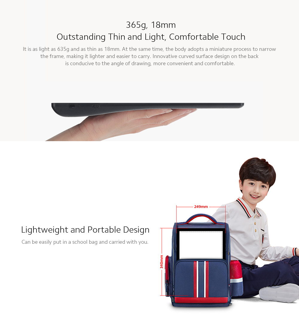 A4-D26 Graphics Tablet LED Penetrating Copy Station Built-in Lithium Battery - Black Lightweight and Portable Design