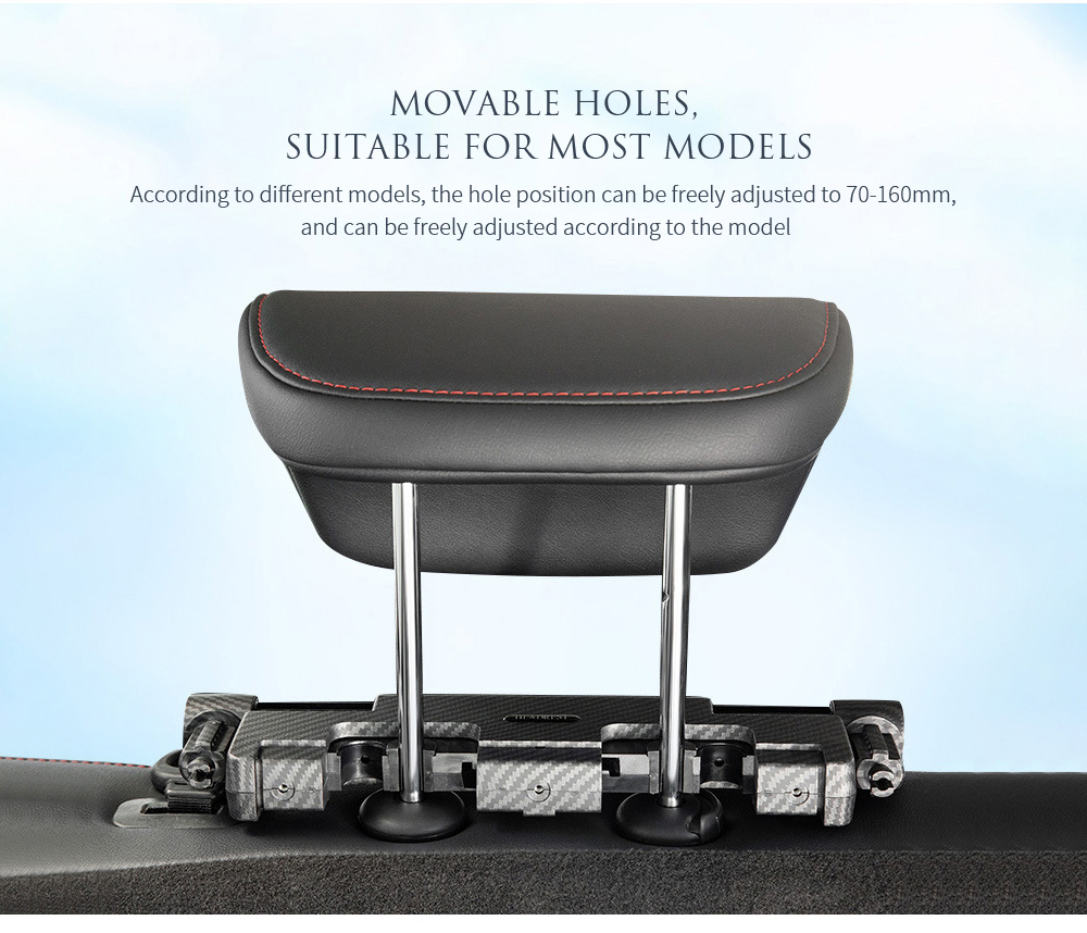 A03 Car Cushion Pillow Movable holes, suitable for most models